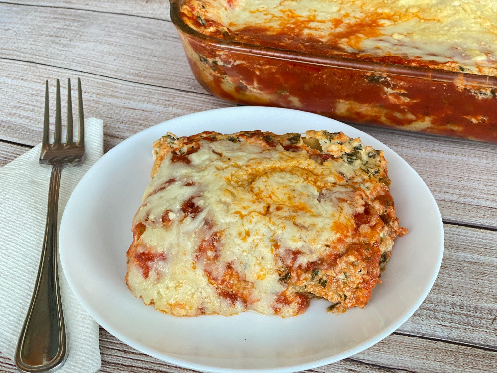 You are currently viewing Spinach Lasagna
