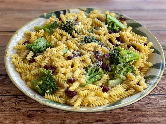Pasta with Beans and Broccoli