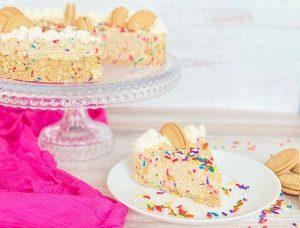Funfetti Birthday Cake Cookie Cheesecake