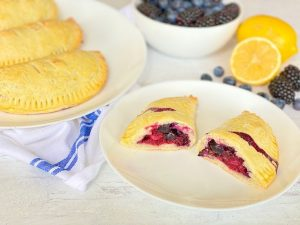 Blueberry  and Blackberry Hand Pies