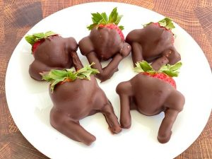 Strawberry Covered Turkeys